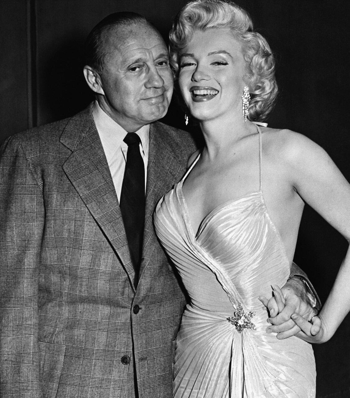 Jack Benny and Marilyn Monroe