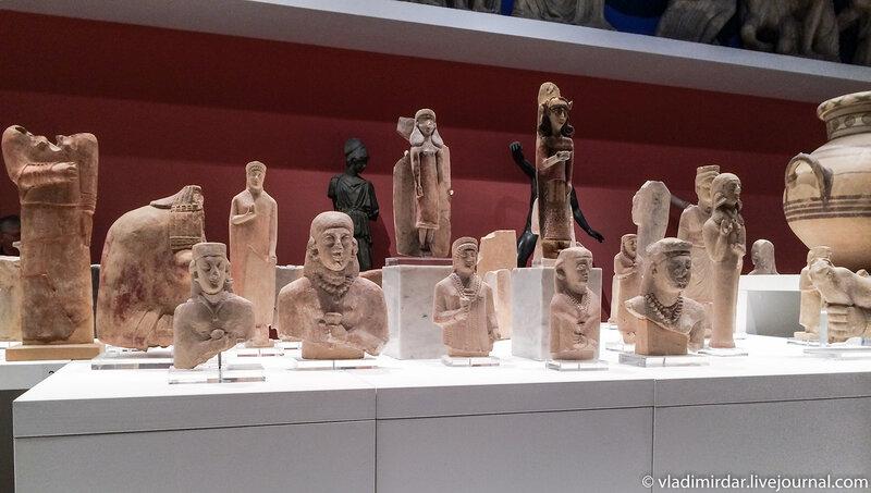 Выставка Искусство древнего Кипра в ГМИИ имени Пушкина