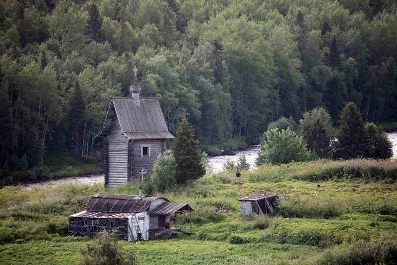 Кереть, село, часовня
