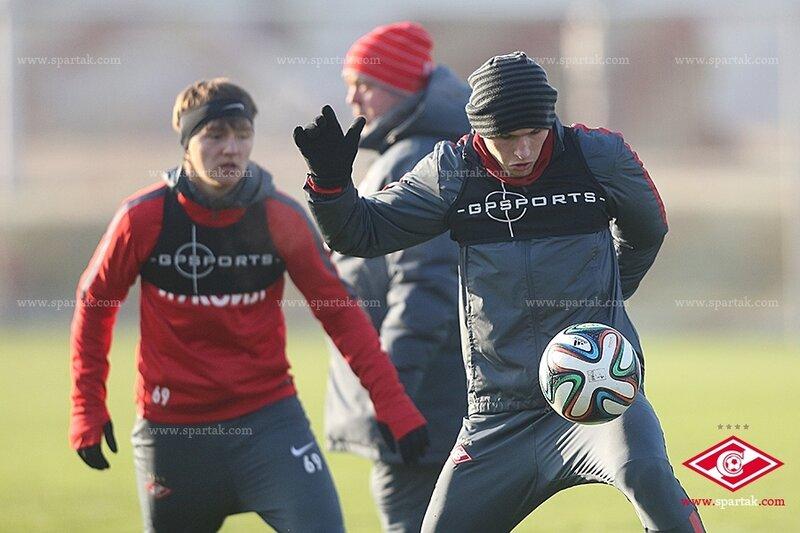 «Спартак» готовится к матчу с «Мордовией» (Фото)