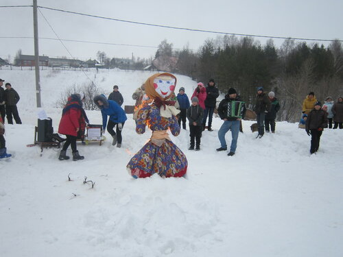 Масленица в Козловском районе