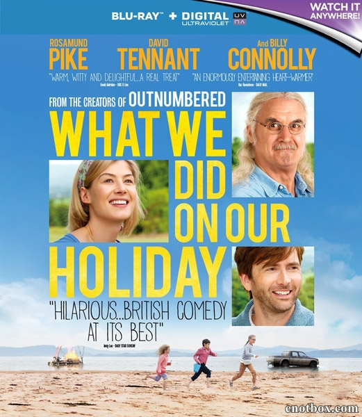 Каникулы мечты / What We Did on Our Holiday (2014/BDRip/HDRip)