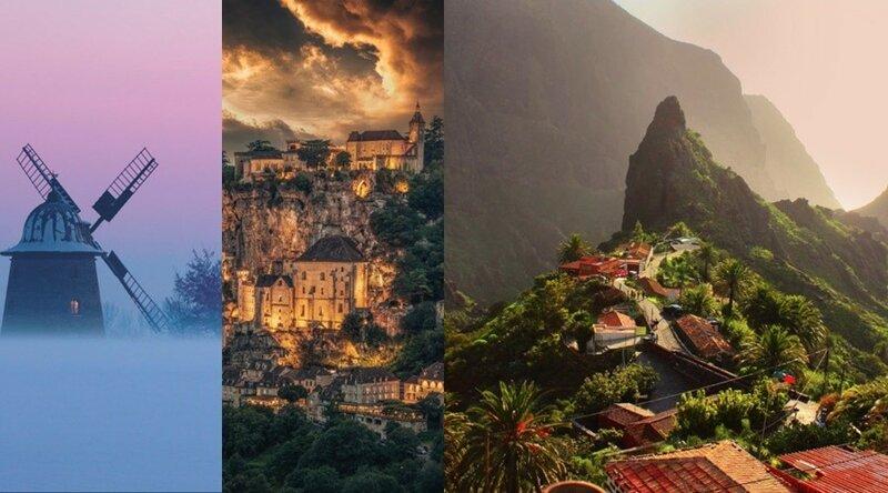 Сказочные места нашей планеты, сохранившие образ волшебства в своих городках и деревушках