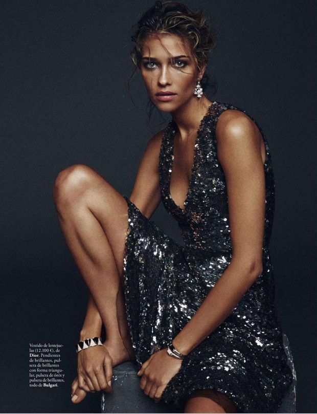 Ана Беатрис Баррос (Ana Beatriz Barros) в журнале Elle Spain