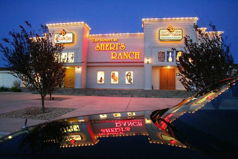 11. Sheri's ranch. Невада, США