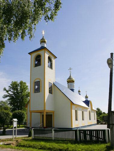 Храм Воздвижения Креста Господня г. Зилупе