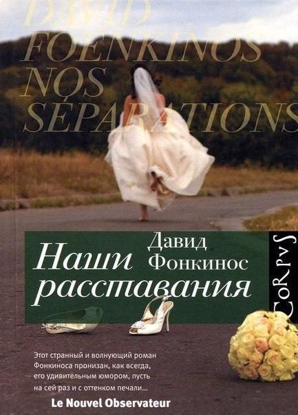 Книга Давид Фонкинос Наши расставания