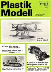 Журнал Plastik Modell 1973-03