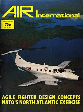 Журнал Air International - Vol 25 No 3