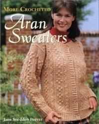 Книга More Crocheted Aran Sweaters