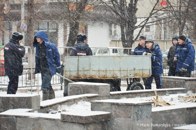 Предновогодняя донорская акция, Саратов, 13 декабря 2014 года