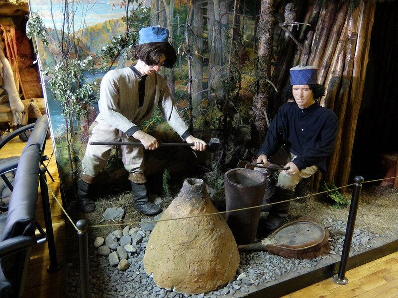 Таштагол - Музей - Доменная печь