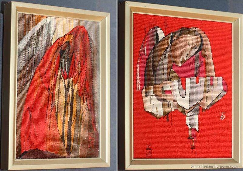 Ирина Колесникова. Красный ангел. 1989; Град отраженный. 1989