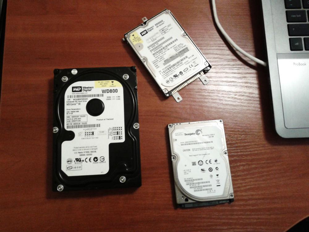 Что делать с кучей жестких дисков