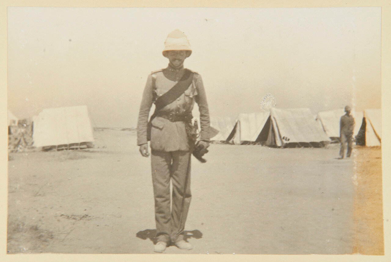 Гренадеры в Сиди Габер возле Александрии. Лейтенант Эдвард Х.Троттер (1872-1916)