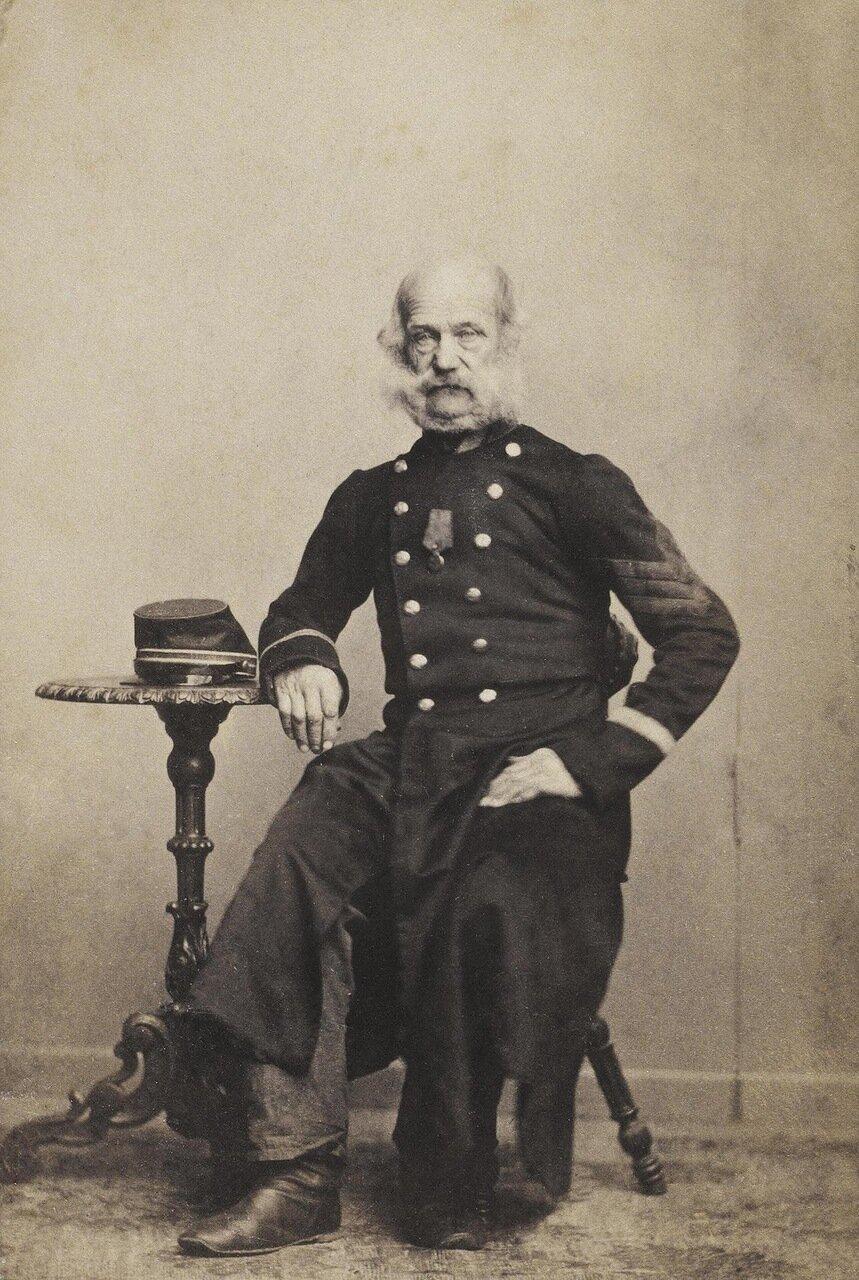 Портрет старого солдата. 1863