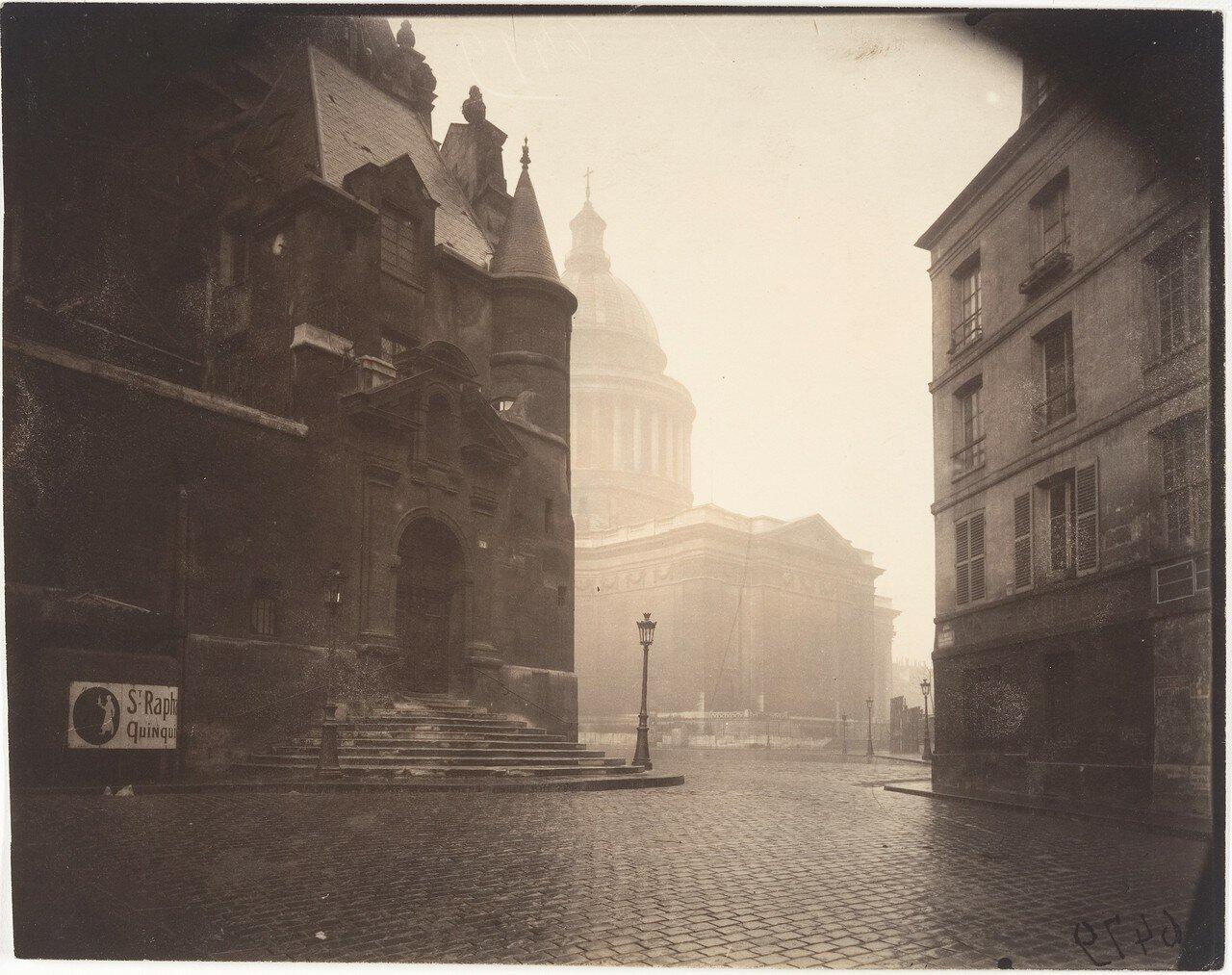 1924.  Улица Горы святой Женевьевы