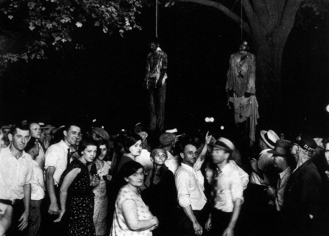 1930. 7 августа Линчевание Т.Шиппа и Авраама Смита