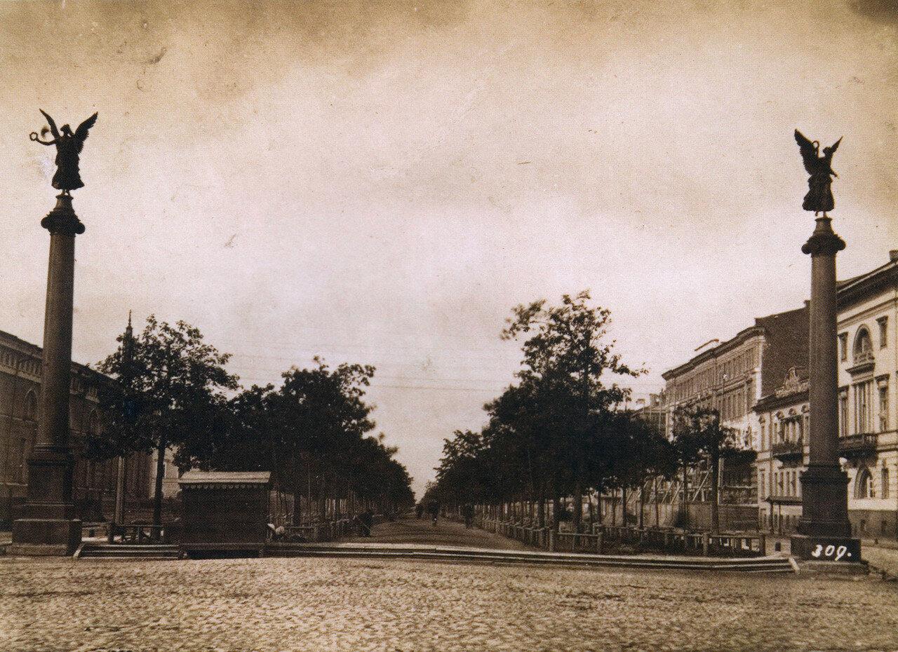 Конногвардейский бульвар. 1870-е