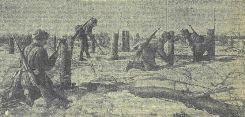 «Красная звезда», 12 марта 1942 года, как русские немцев били, потери немцев на Восточном фронте, красноармеец, Красная Армия, русский дух, русский воин