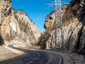 Дорога в Горной Ингушетии