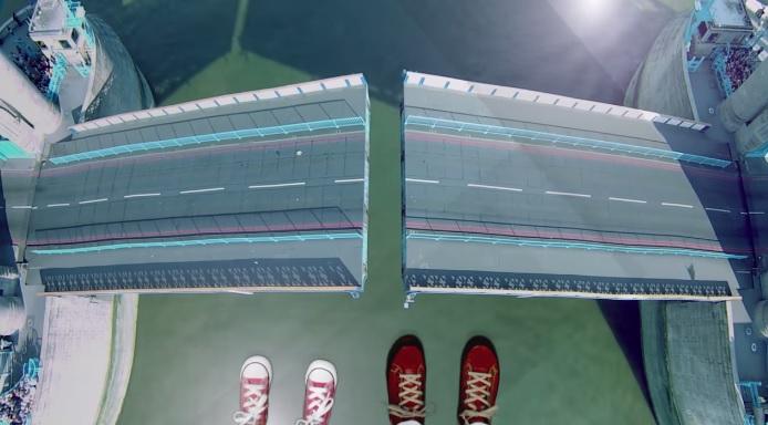 Тауэрский мост - стеклянный аттракцион