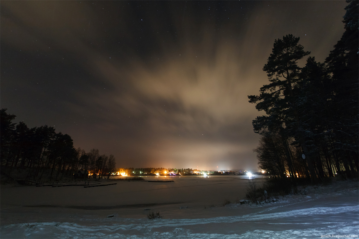 Лосево, Суходольское, зима, фото, фотография, база Молодежное