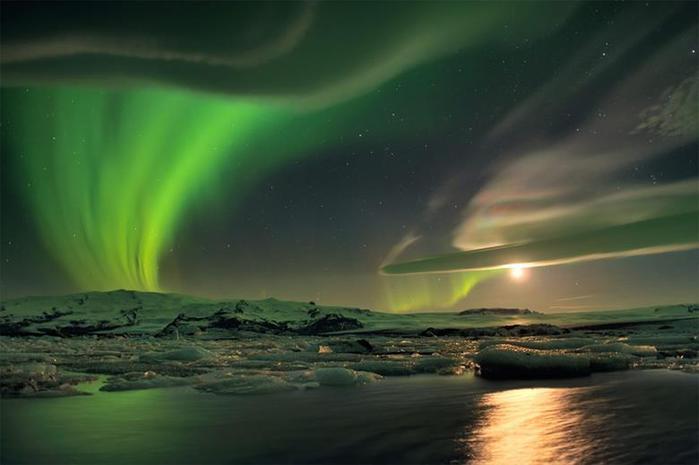 Красивые фотографии полярного сияния 0 10d63b 3281920d orig