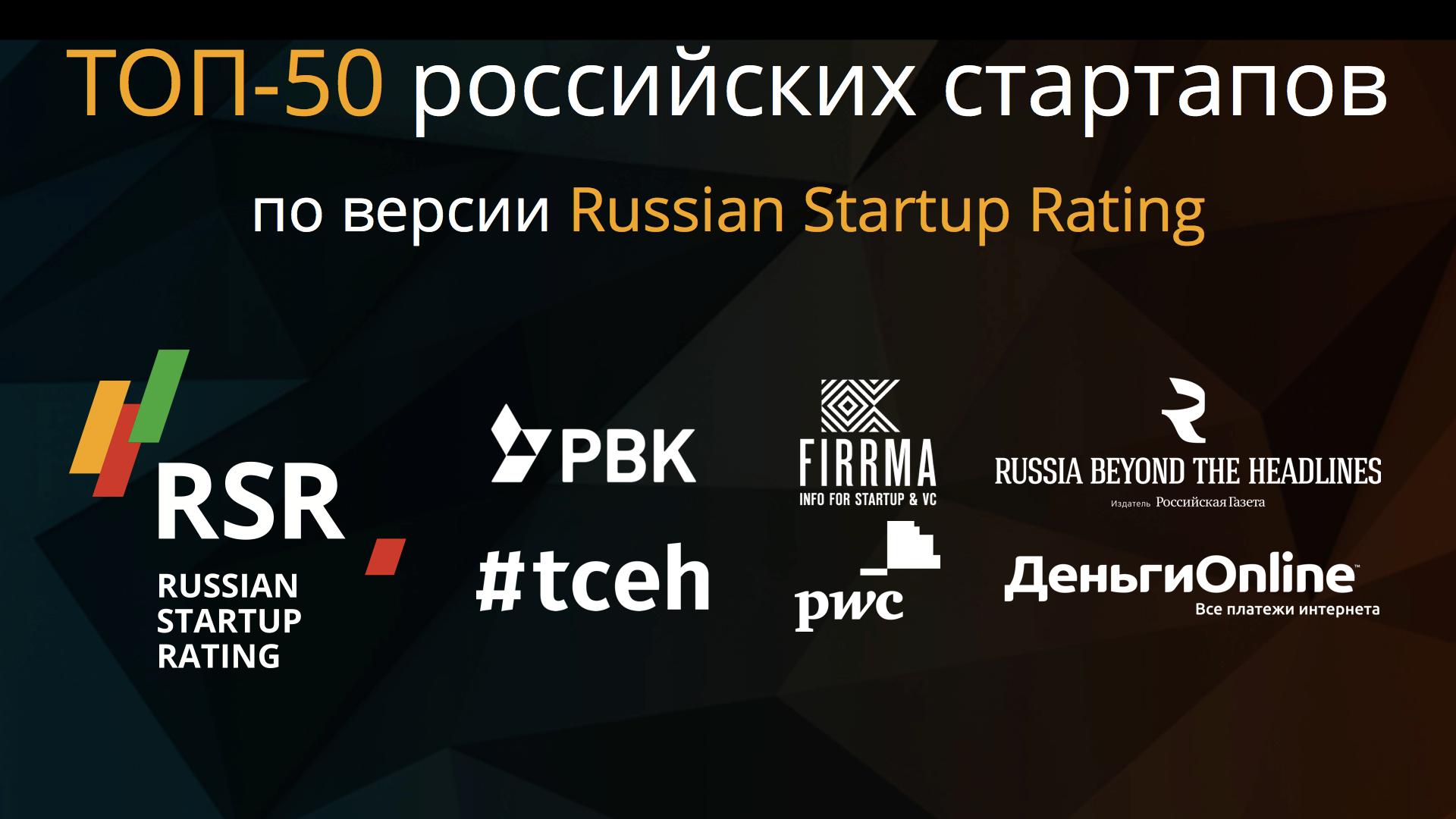 ТОП-50 российских стартапов