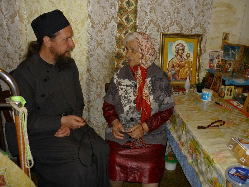 Матушка Тамара и монах Салафиил (Филипьев).