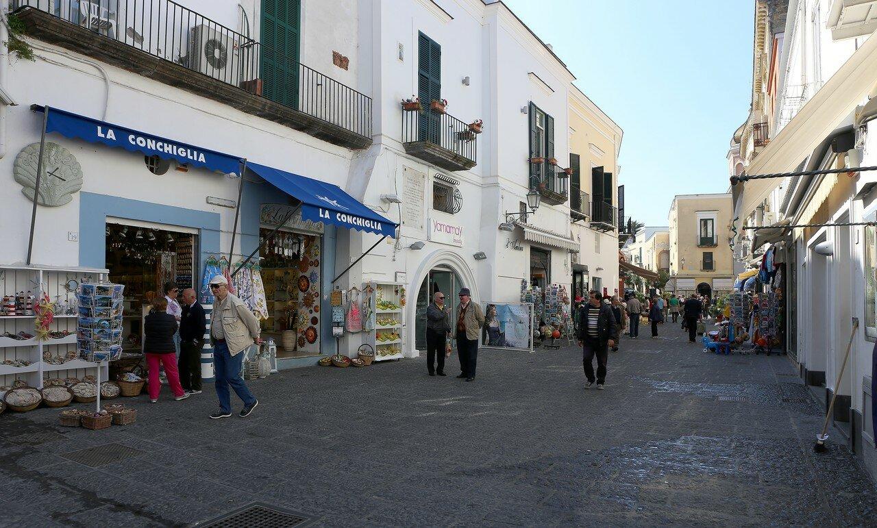 Ischia, Forio. Erasmo di Lusto street (Via Erasmo di Lustro)