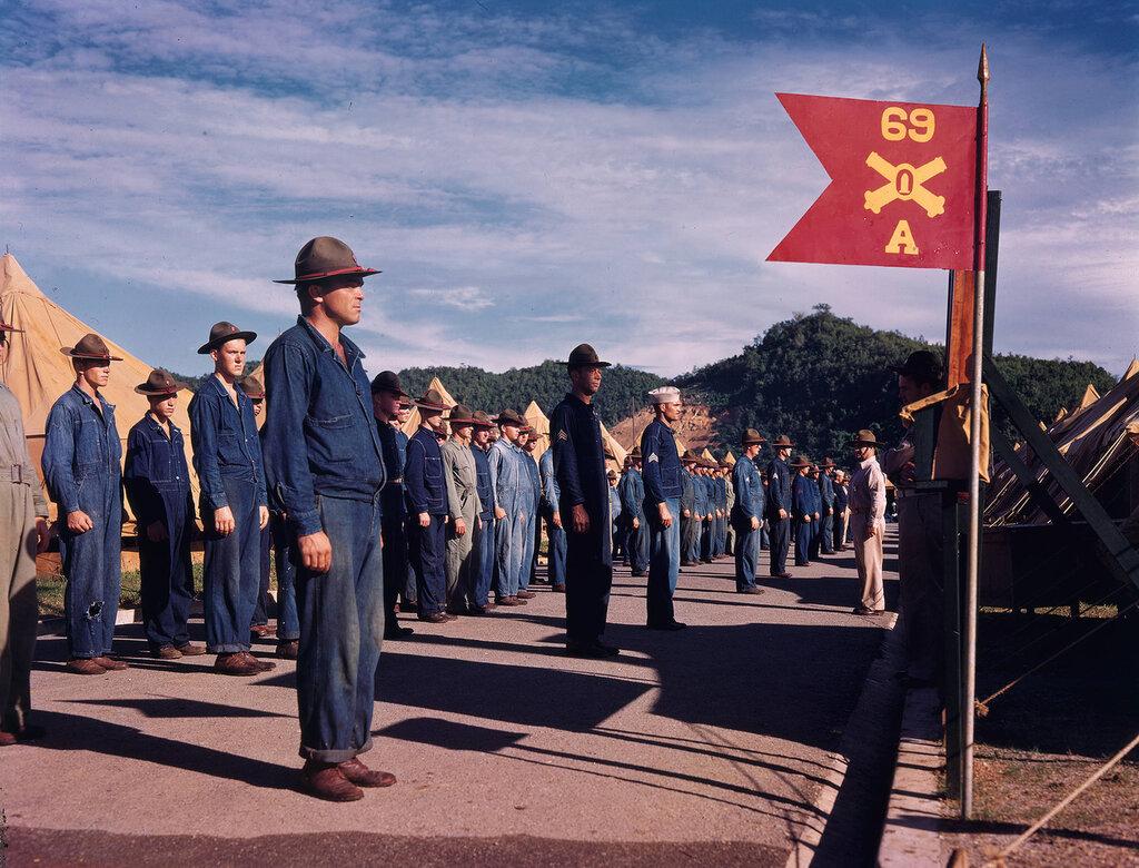 69th Coast Artillery Regiment, San Juan, Puerto Rico, 1939