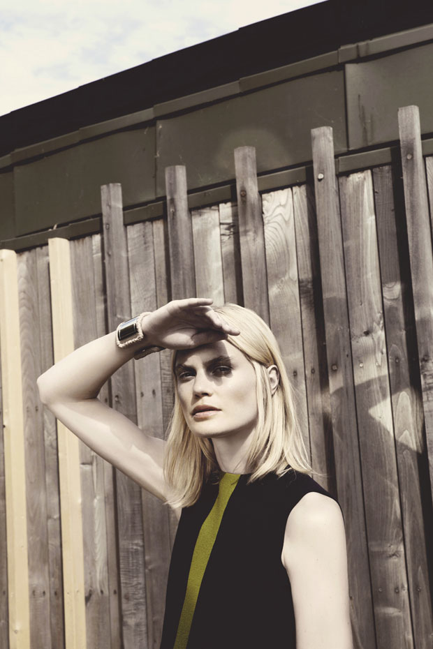 Фелисити Пил (Felicity Peel) в журнале A Magazine