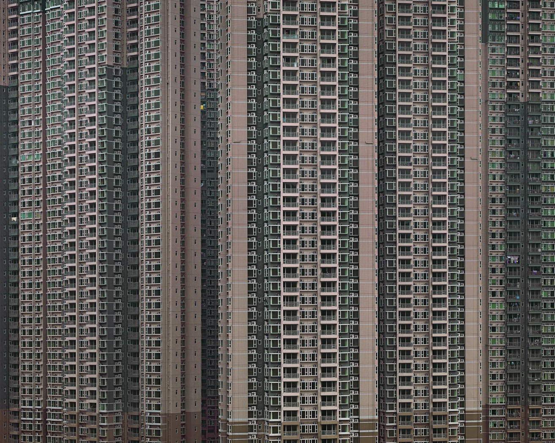 Плотная застройка в Гонконге Михаэль Вулф