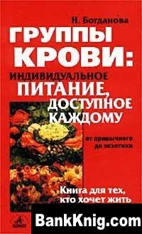 Книга Группы крови: индивидуальное питание, доступное каждому djvu 3,18Мб
