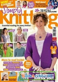 Журнал Simply Knitting №68 2010.
