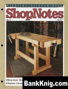 Журнал ShopNotes №07 (1993)