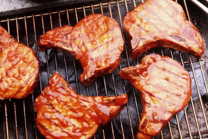 Мясо решетке рецепты фото