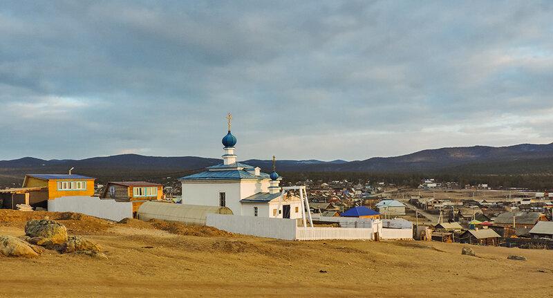Православный храм на Ольхоне