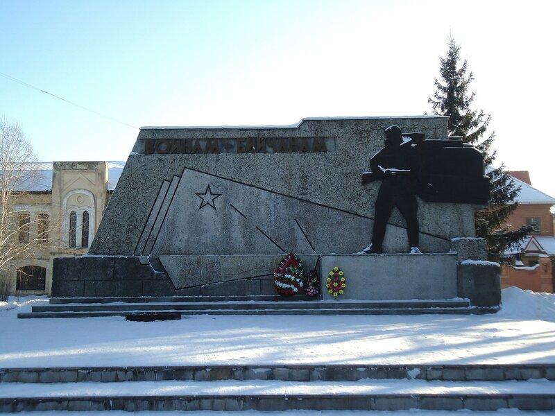 Бийск. Памятник воинам-бийчанам