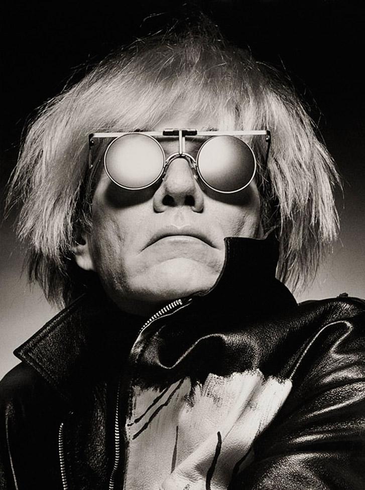 работа фотографа Альберта Уотсона / Andy Warhol, New York, 1985 - photo by Albert Watson