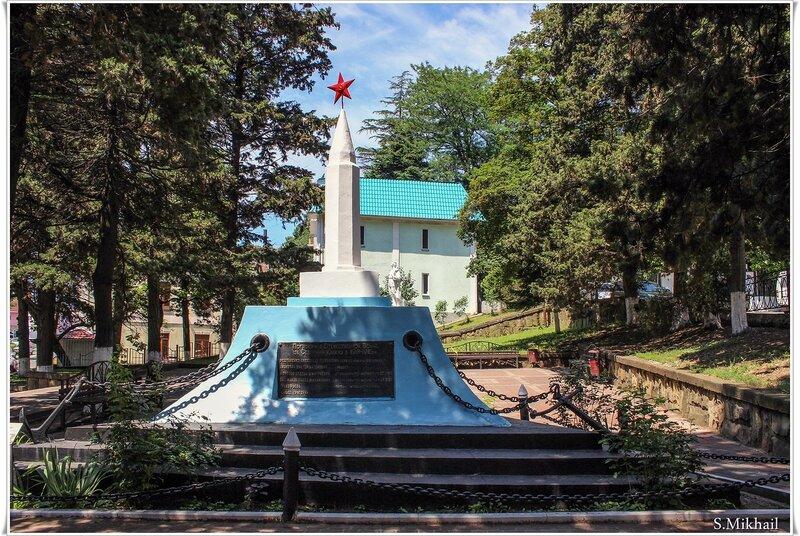 Памятник Погибшим за Северный Кавказ