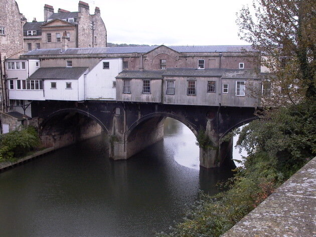 Мост Палтиней (Pulteney Bridge). Великобритания