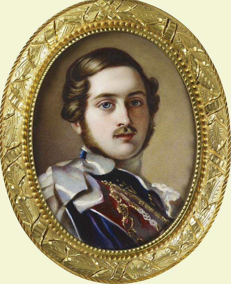 Принц Альберт (1819-1861)  Подпись и дата 1848