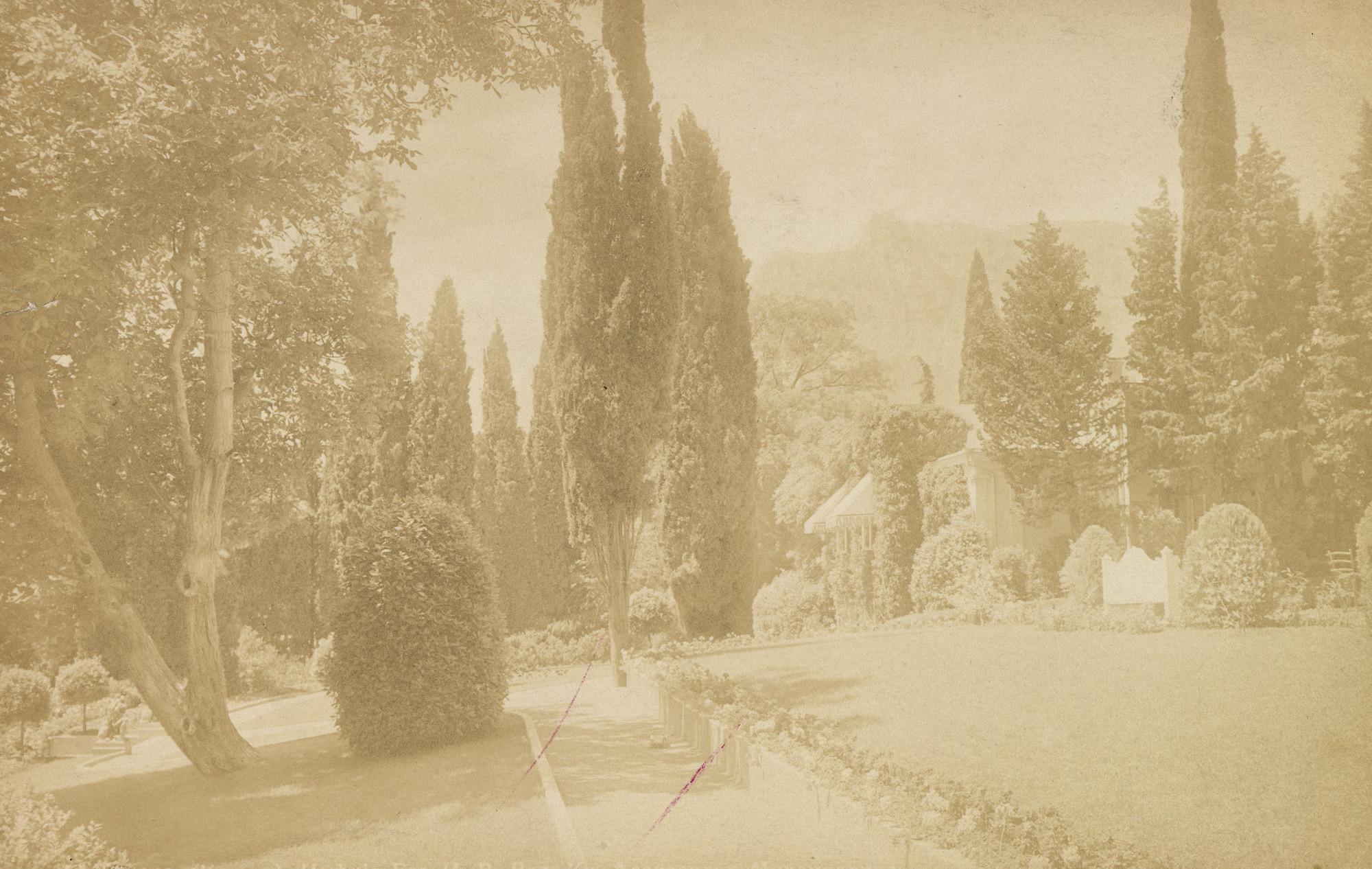 Парк. 1900