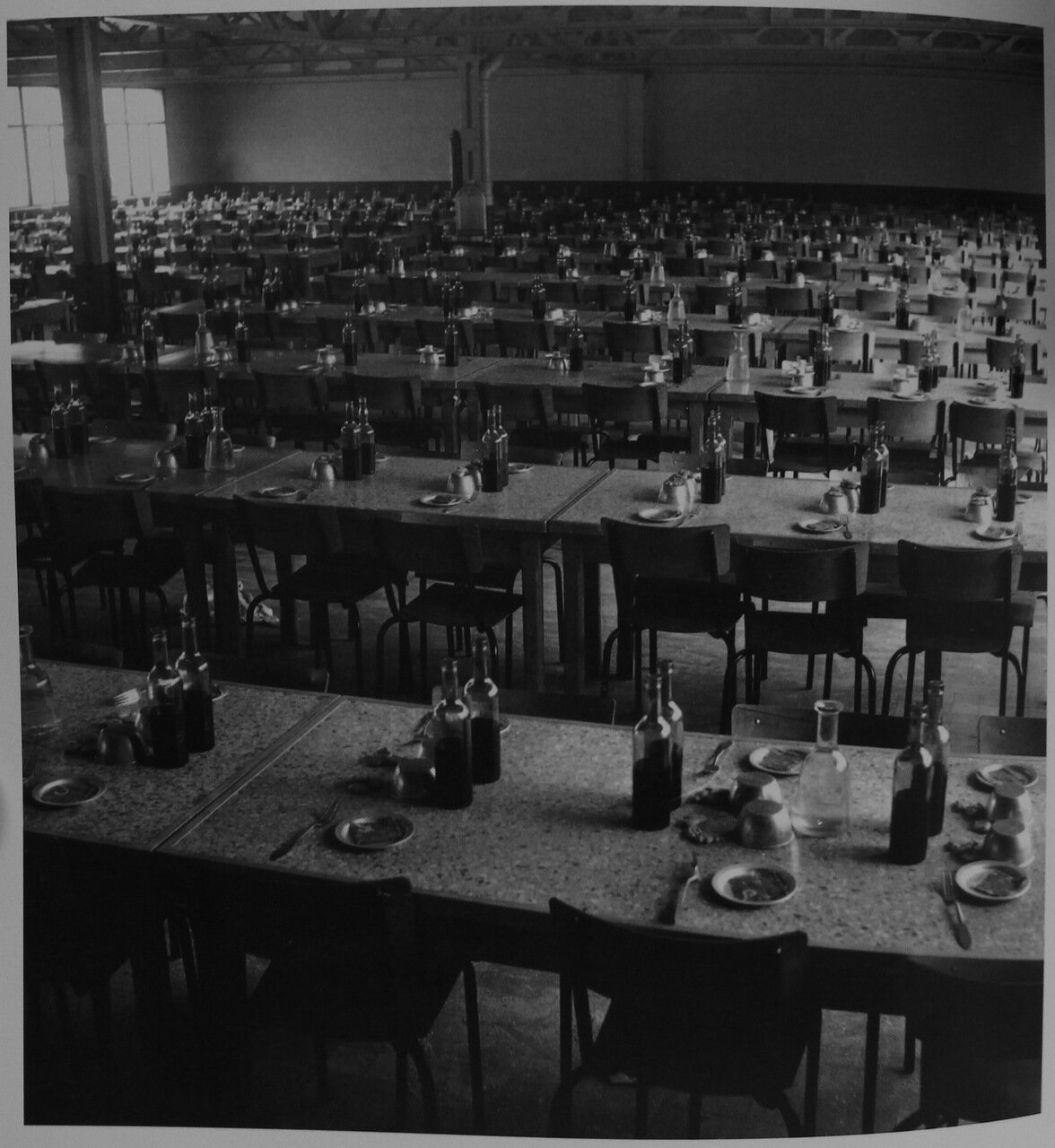 1951. Столовая Рено, Булонь-Бийанкур