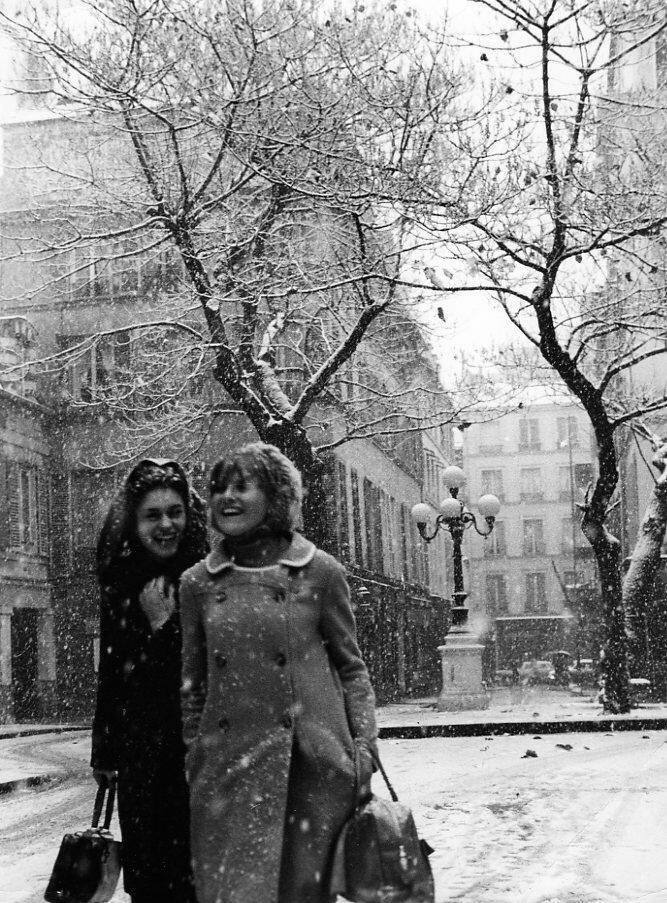1966. Снег в Фюрстенберге