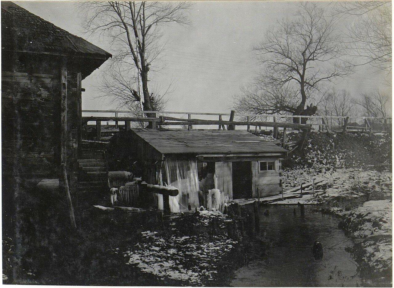 Микуличи. Водяная мельница.1918.