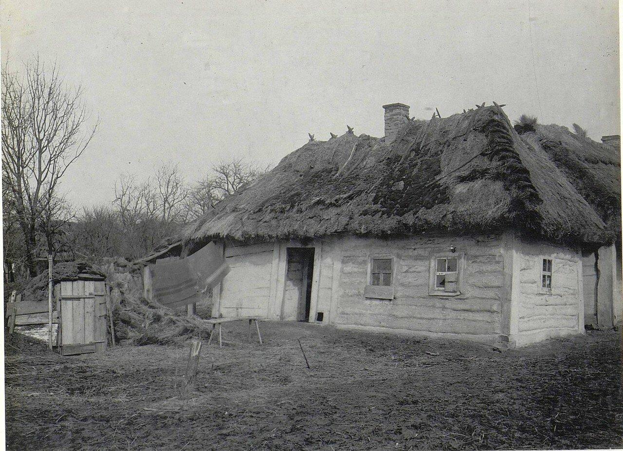 Микуличи. Крестьянский дом.1918