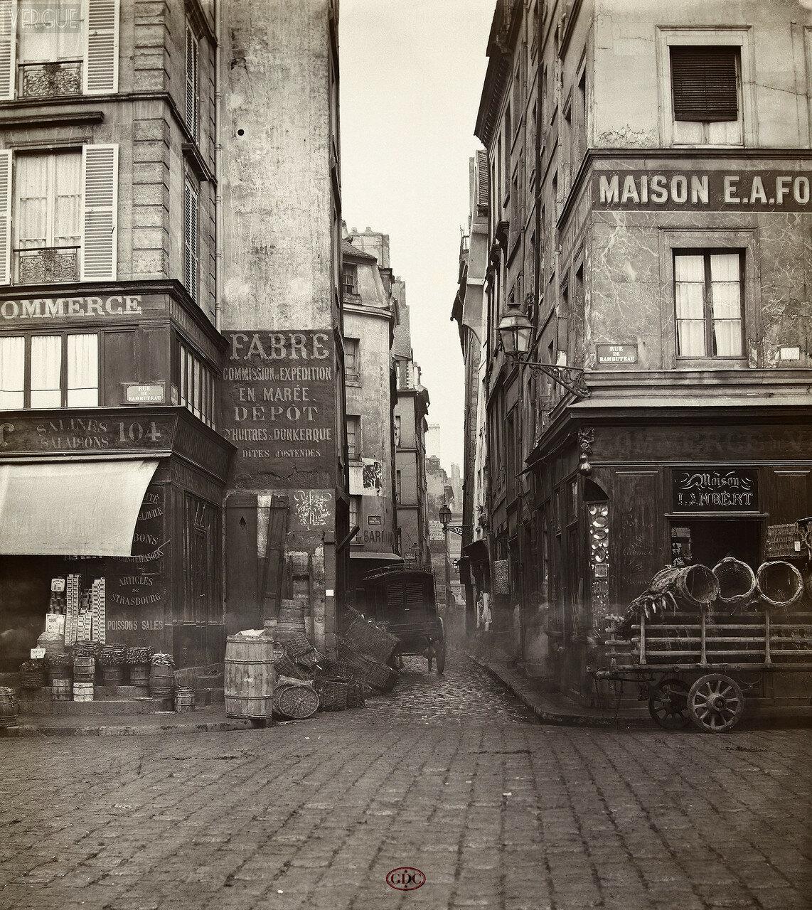 Рю де Мoндетур. 1866